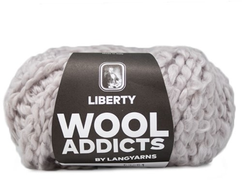 Wooladdicts Better Beloved Vest Breipakket 3 L Silver