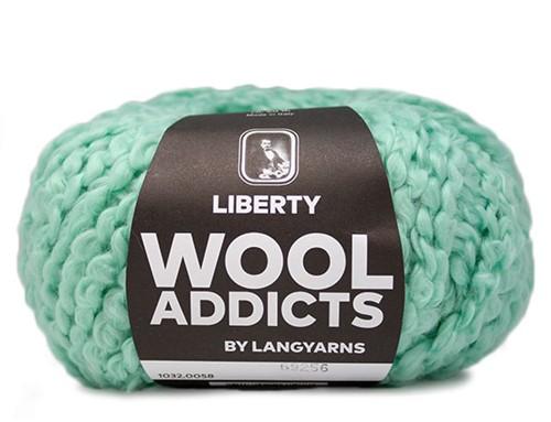 Wooladdicts Better Beloved Vest Breipakket 6 L Mint