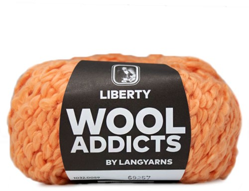 Wooladdicts Better Beloved Vest Breipakket 7 L Orange