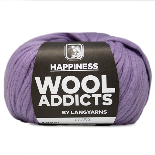 Wooladdicts Happy Habit Vest Breipakket 2 L Lilac