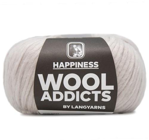 Wooladdicts Happy Habit Vest Breipakket 3 L Silver