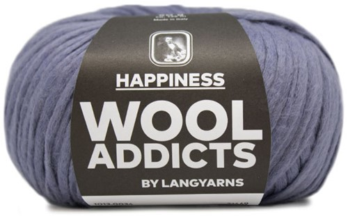 Wooladdicts Happy Habit Vest Breipakket 4 L Jeans