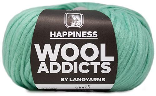 Wooladdicts Happy Habit Vest Breipakket 6 M Mint