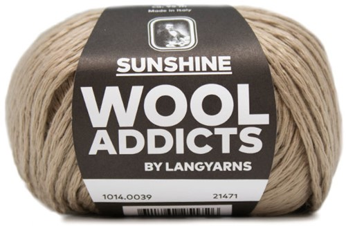 Wooladdicts Spotless Secret T-Shirt Haakpakket 5 L Camel