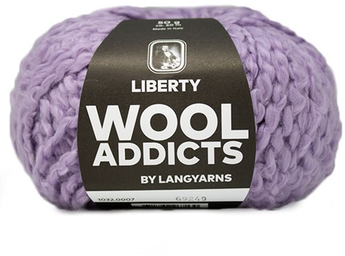 Wooladdicts Pure Pleasure T-Shirt Breipakket 2 XL Lilac
