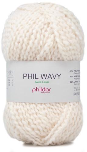 Phildar Phil Wavy 1359 Ecru