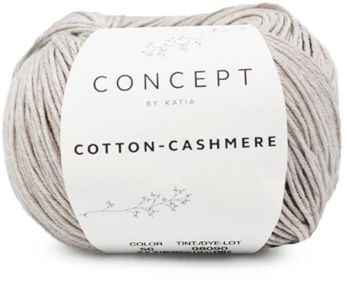 Cotton-Cashmere Top Breipakket 2 42/44 Stone Grey