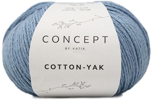 Cotton Yak Meisjestrui Breipakket 1 8 jaar Light Blue