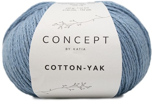 Cotton Yak Meisjestrui Breipakket 1 4 jaar Light Blue