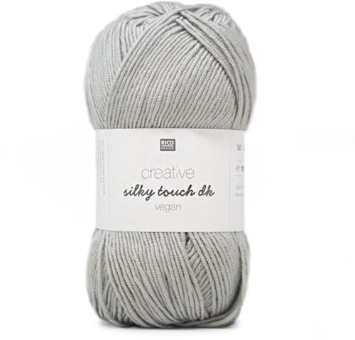 Creative Silky Touch Ajourvest Breipakket 2 44 Silver-Grey