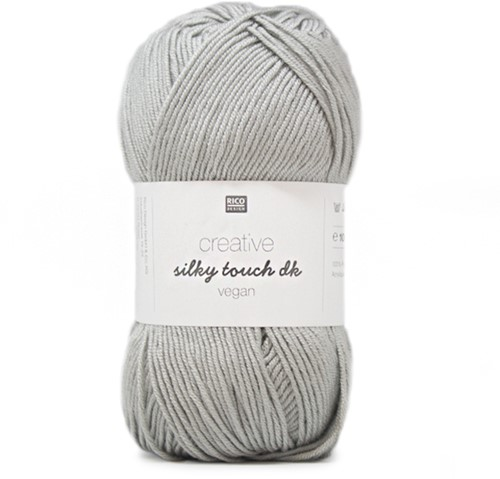 Creative Silky Touch Ajourvest Breipakket 2 36 Silver-Grey