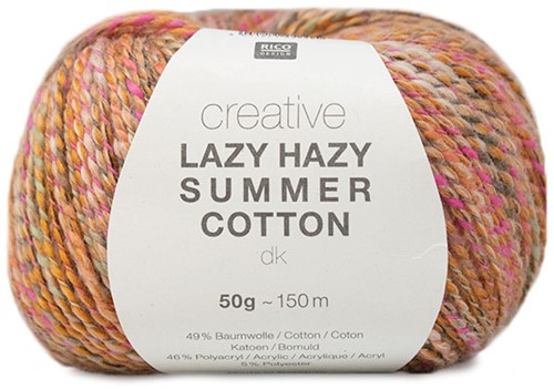 Lazy Hazy Summer Cotton Vest Breipakket 2 44/46 Mustard