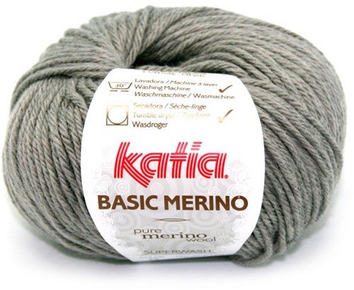 Katia Basic Merino 13 Medium grey