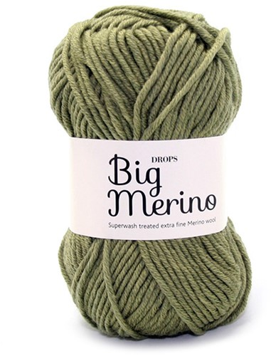 Drops Big Merino Uni Colour 13 Olive