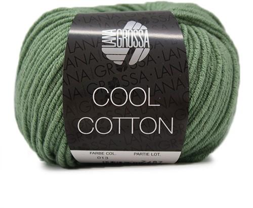 Lana Grossa Cool Cotton 13 Reseda Green