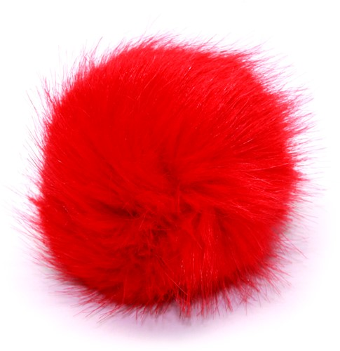 Rico Kunstbont Pompon Medium 14 Orange