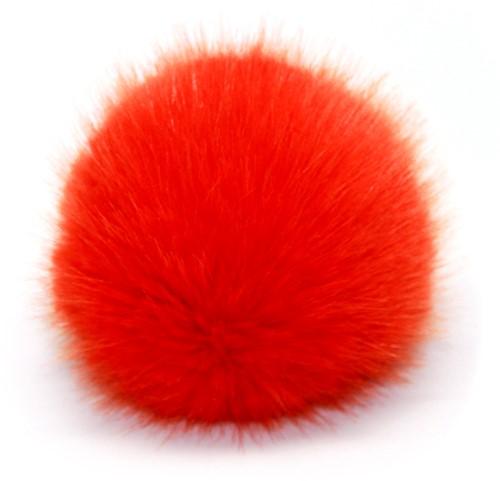Rico Kunstbont Pompon Large 14 Oranje