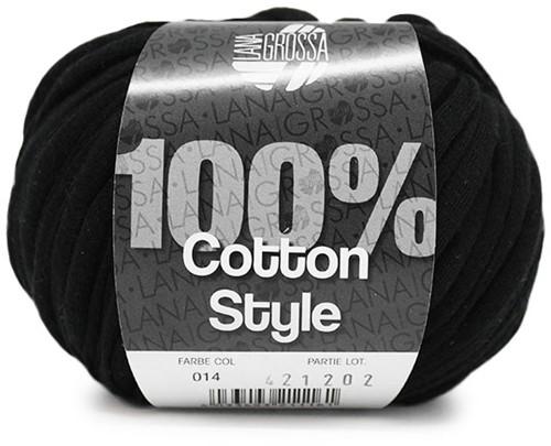 Lana Grossa Cotton Style 14 Black