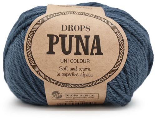 Drops Puna Uni Colour 14 Denimblauw
