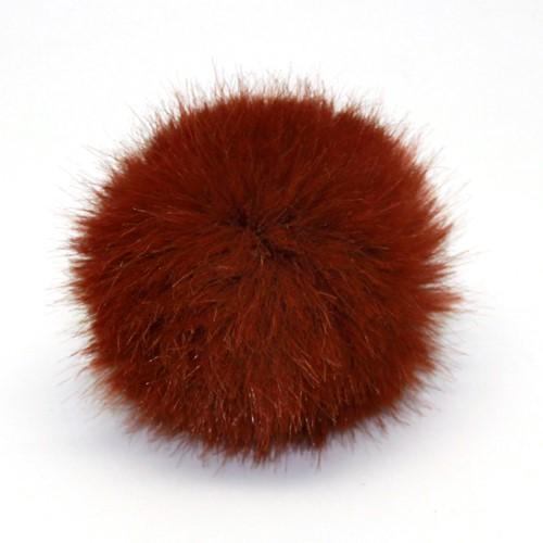 Rico Kunstbont Pompon Medium 15 Hazelnut