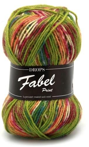 Drops Fabel Print 151 Guacamole