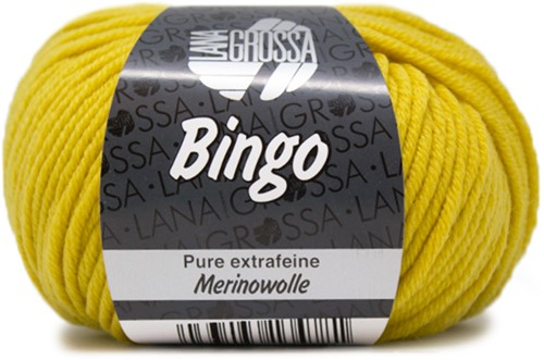 Lana Grossa Bingo 154 Saffron Yellow