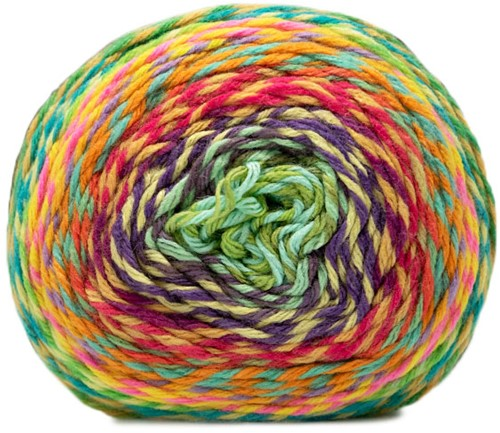 Katia Twisted Paint 157 Blue / Green / Red