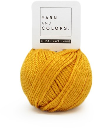 Yarn and Colors Must-have Minis 015 Mustard