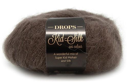 Drops Kid-Silk Uni Colour 15 Dark-brown