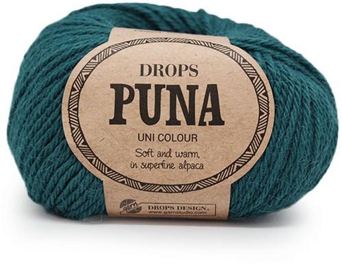 Drops Puna Uni Colour 15 Noordzee