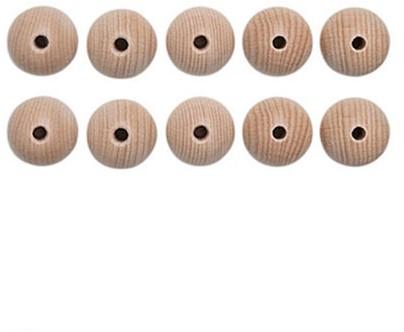 Houten Kralen Set 10 Stuks 15 mm