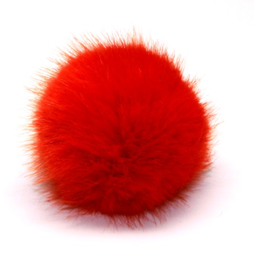 Rico Kunstbont Pompon Medium 16 Red