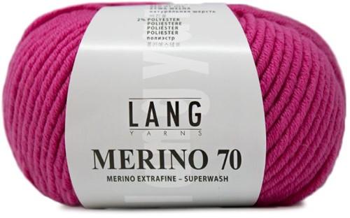 Lang Yarns Merino 70 165 Fuchsia