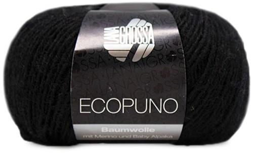 Lana Grossa Ecopuno 016 Black