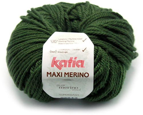 Katia Maxi Merino 16 Dark green