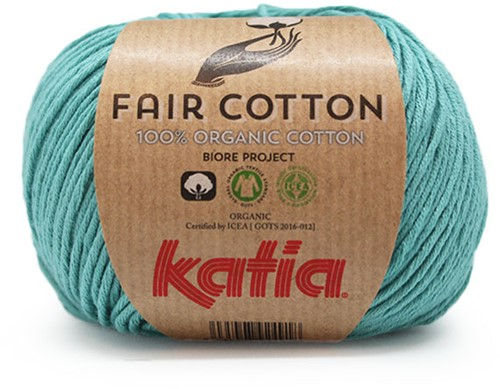 Katia Fair Cotton 16 Turquoise