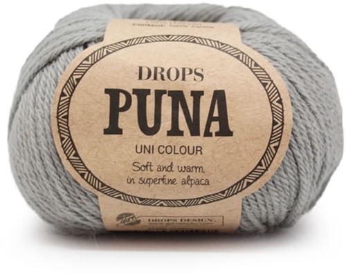 Drops Puna Uni Colour 16 Grijsgroen