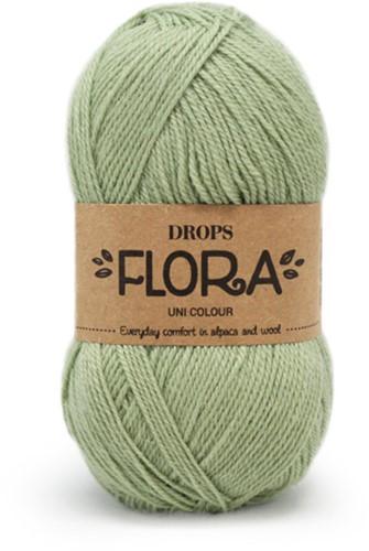 Drops Flora Uni Colour 16 Pistachio
