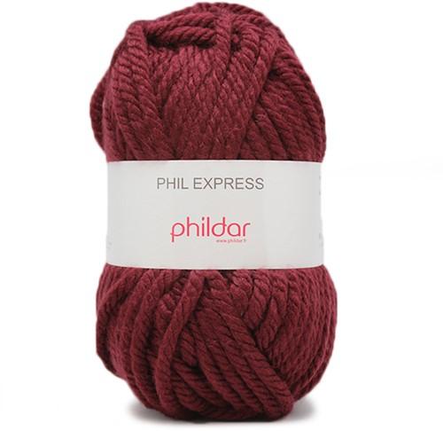 Phildar Phil Express 1272 Bordeaux