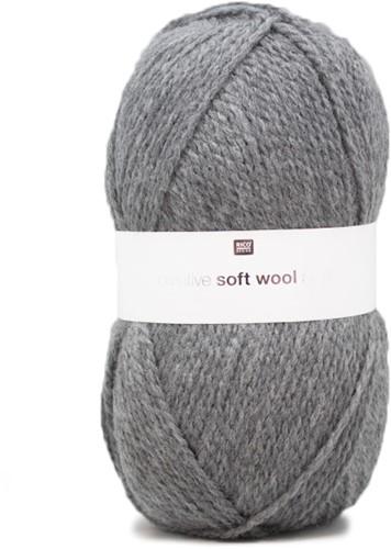 Rico Creative Soft Wool Aran 17 Grey