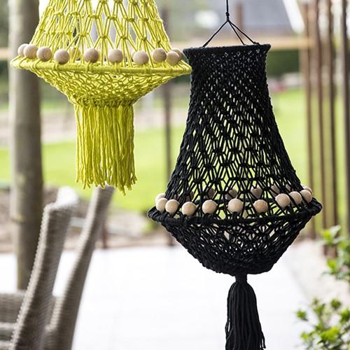 Macramépatroon Lamp