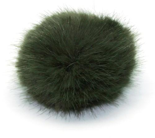 Rico Kunstbont Pompon Medium 18 Olive