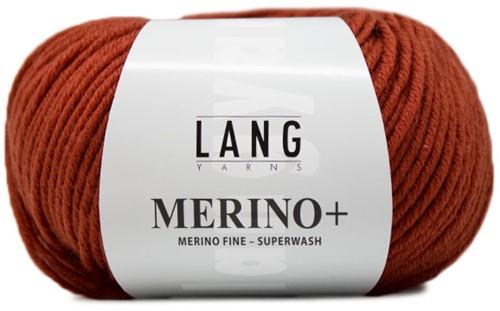 Lang Yarns Merino+ 187 Brick