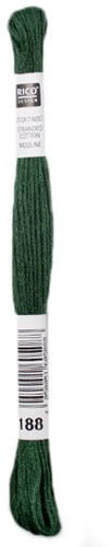 Rico Sticktwist Borduurgaren 8m 188 Deep green