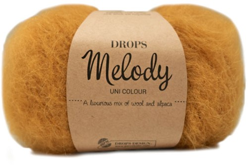 Drops Melody Uni Colour 18 Mustard