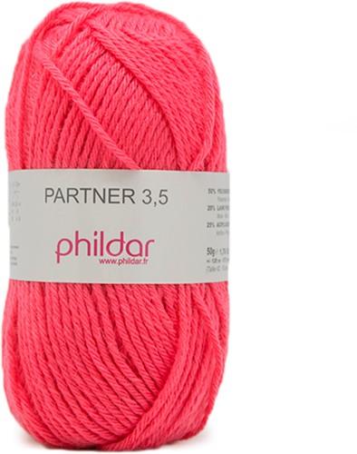 Phildar Partner 3.5 1127 Grenadine