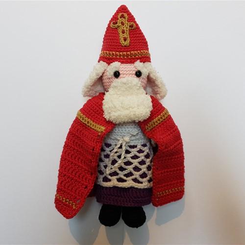 Haakpatroon Sinterklaas Aankleedpop