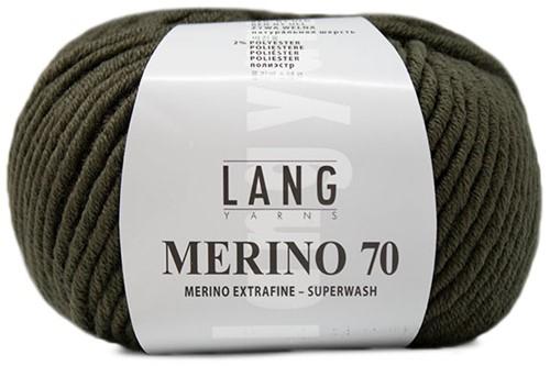 Lang Yarns Merino 70 198 Olive