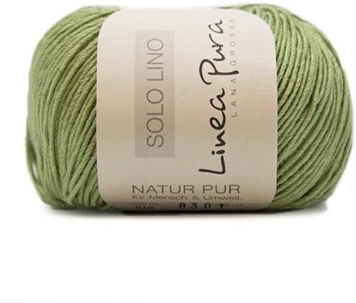 Lana Grossa Solo Lino 019 Lime Green