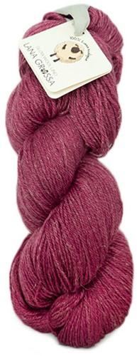 Lana Grossa Slow Wool Lino 019 Dark Pink